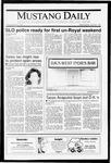 Mustang Daily, April 24, 1991