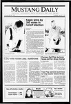 Mustang Daily, April 25, 1991