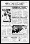 Mustang Daily, April 26, 1991