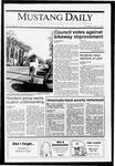 Mustang Daily, May 9, 1991