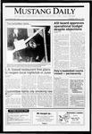 Mustang Daily, May 14, 1991