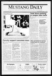 Mustang Daily, May 15, 1991