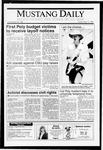 Mustang Daily, May 17, 1991