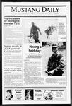 Mustang Daily, May 21, 1991