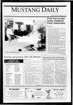 Mustang Daily, May 22, 1991