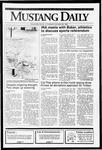 Mustang Daily, October 24, 1991