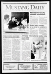Mustang Daily, October 25, 1991