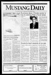 Mustang Daily, October 30, 1991