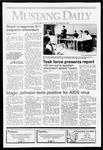 Mustang Daily, November 8, 1991