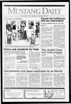 Mustang Daily, November 13, 1991