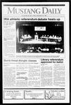 Mustang Daily, November 15, 1991