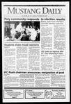 Mustang Daily, November 25, 1991