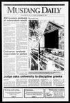 Mustang Daily, November 26, 1991