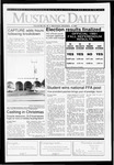 Mustang Daily, December 4, 1991