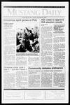 Mustang Daily, December 6, 1991