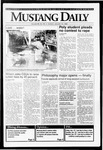 Mustang Daily, January 14, 1992