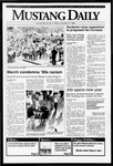 Mustang Daily, January 17, 1992