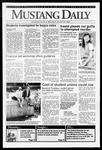 Mustang Daily, January 22, 1992