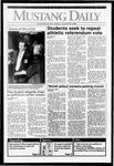 Mustang Daily, January 27, 1992