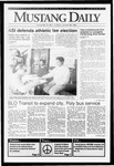 Mustang Daily, January 28, 1992