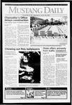 Mustang Daily, January 29, 1992