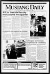 Mustang Daily, February 21, 1992