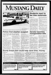 Mustang Daily, March 3, 1992