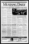 Mustang Daily, March 5, 1992