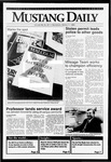Mustang Daily, March 11, 1992