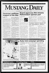 Mustang Daily, April 3, 1992