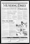 Mustang Daily, April 9, 1992