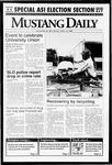 Mustang Daily, April 13, 1992