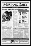 Mustang Daily, April 16, 1992