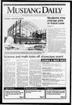 Mustang Daily, April 21, 1992