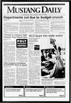 Mustang Daily, April 23, 1992