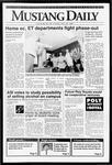 Mustang Daily, April 24, 1992
