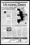 Mustang Daily, April 29, 1992