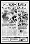 Mustang Daily, May 1, 1992