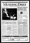 Mustang Daily, May 7, 1992