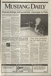 Mustang Daily, May 8, 1992