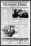 Mustang Daily, May 11, 1992