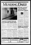 Mustang Daily, May 19, 1992