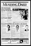 Mustang Daily, May 21, 1992