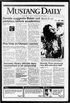 Mustang Daily, May 28, 1992