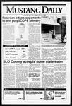 Mustang Daily, May 29, 1992
