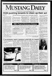 Mustang Daily, September 25, 1992