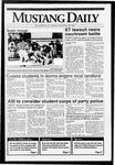 Mustang Daily, September 28, 1992