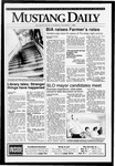 Mustang Daily, October 1, 1992