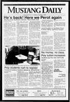 Mustang Daily, October 2, 1992