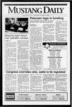 Mustang Daily, October 7, 1992